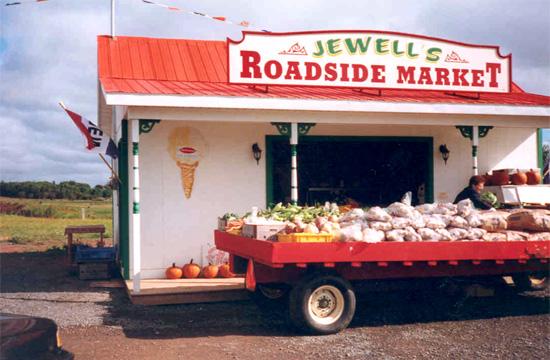 Jewell's Roadside Market History