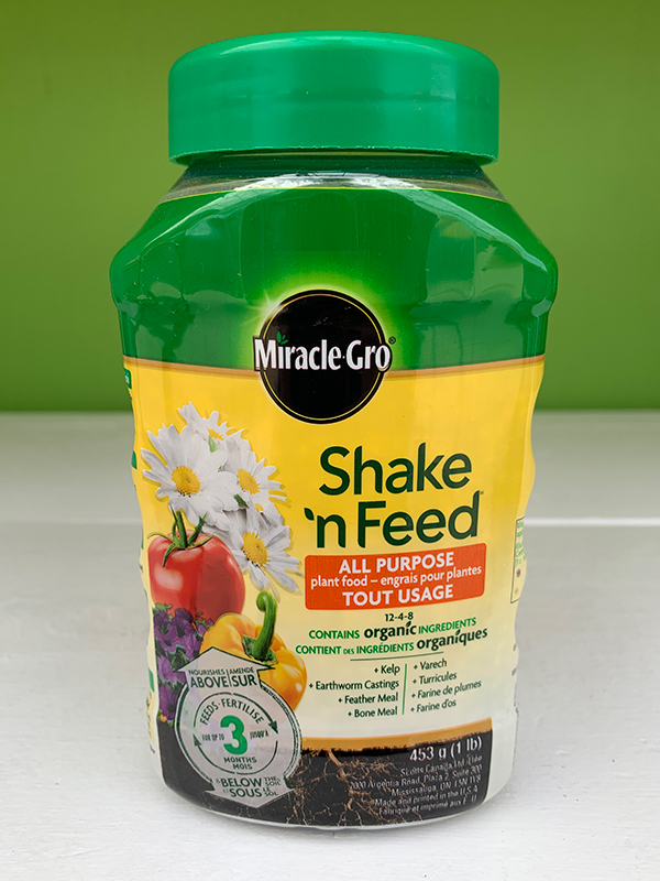 Miracle Gro Shake'N Feed All Purpose